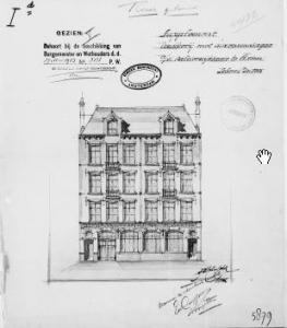 Broodfabriek coöperatie Assumptio met bovenwoningen