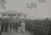 Gala-paviljoen voor koning Haakon