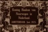 Staatsbezoek koning Haakon, Noorwegen