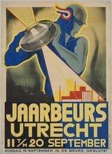 Affiche Najaarsbeurs Utrecht 1934