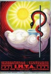 Affiche Internationale Hygiënische Tentoonstelling I.H.T.A.