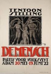 Affiche Tentoonstelling De Mensch