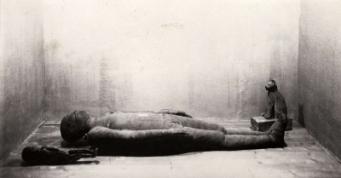 Mummie, te zien bij Tentoonstelling De Mensch