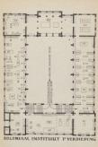 Ontwerp eerste etage Jubileumtentoonstelling 1923