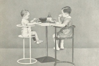 Kinder-tafelstoel