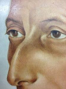 Portret van A.A.M. Grimmon (detail)
