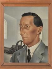 Portret van A.A.M. Grimmon