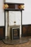Interieur, schoorsteen in de voorkamer, De Lairessestraat 39, Amsterdam