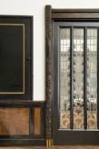 Interieur, deur naar de achterkamer, De Lairessestraat 39, Amsterdam