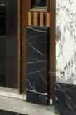 Interieur, detail omlijsting deurstijl, De Lairessestraat 39, Amsterdam
