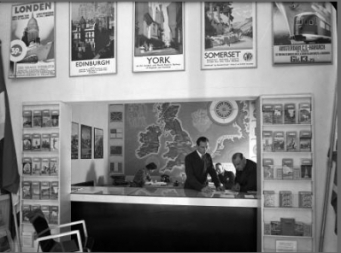 Balie Brits en Iers Verkeersbureau