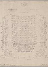 Plattegrond zaal Theater de la Mar