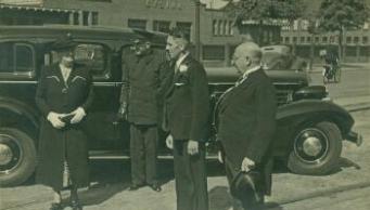 Bernard Polak bij PFW Amersfoort in 1954