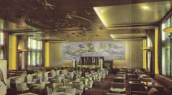 Interieur Grand Hall, SS Nieuw Amsterdam