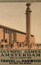 Affiche Olympische Spelen Amsterdam 1928