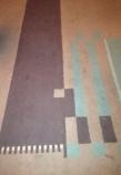 Detail tapijt, Trouwkamer Eerste Klasse, Stadhuis Amsterdam