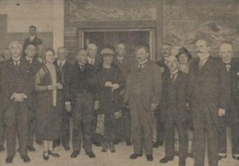 Opening Gemeentelijk Lyceum voor Meisjes, 15 september 1926