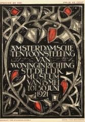 Affiche Amsterdamsche Tentoonstelling van Woninginrichting